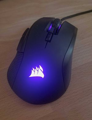 Gaming Mouse - Corsair Ironclaw RGB 18,000 dpi for Sale in Tacoma, WA