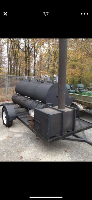 Rotisserie Barbecue grill 16 foot trailer for Sale in Austin, TX