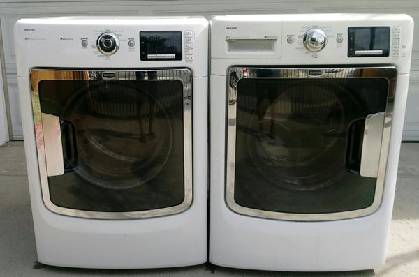 Washer and steam dryer