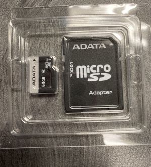New 64 GB SD card for Sale in El Monte, CA