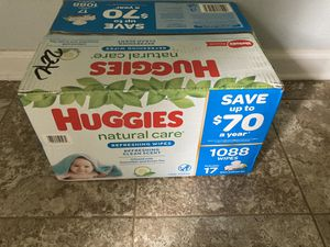 Huggies Natural Care Wipes 1088ct for Sale in Lawrenceville, GA