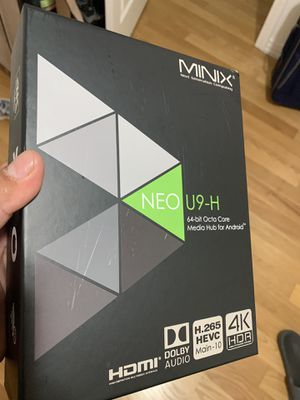 Android box Minix Neo U9-H for Sale in Los Angeles, CA