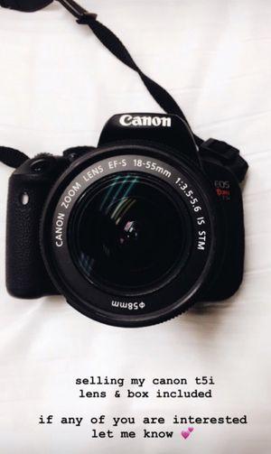 Canon T5i for Sale in Alpharetta, GA