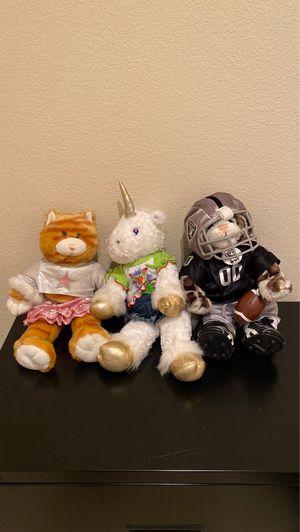 Build-a-Bear Workshop stuffed animals for Sale in Rancho Cordova, CA