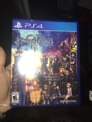 kingdom of hearts ps4 for Sale in Fort Lauderdale, FL