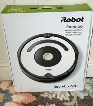 I Robotech Roomba 670 for Sale in Sacramento, CA