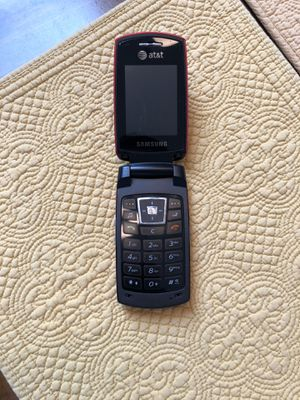 Samsung Flip Phone AT&T Red for Sale in Estero, FL