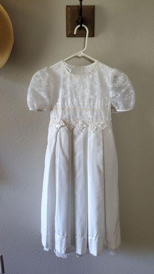 girls size 7 junior bridesmaid, Flower girl for communion dress for Sale in NEW PRT RCHY, FL