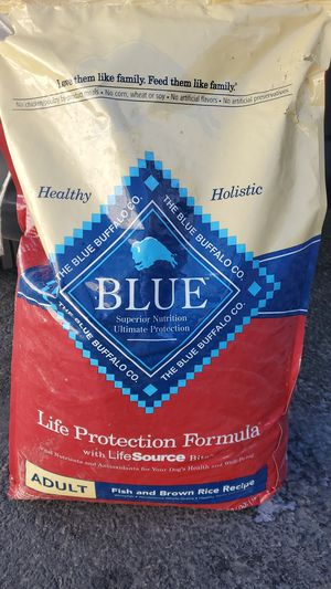 Brand new bag of blue Buffalo dog food for Sale in South Salt Lake, UT