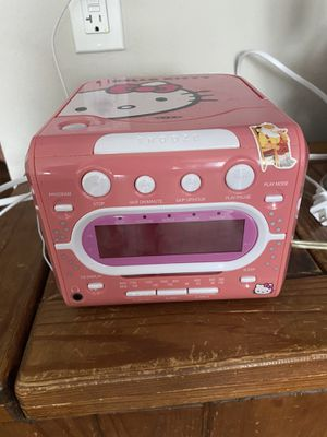 Hello Kitty CD player/radio for Sale in Boca Raton, FL