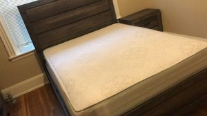 Queen size bed room I only have for a month the reason why I'm selling it cuz I have to leave the USA by the end of March hit me up if interested for Sale in Saugus, MA