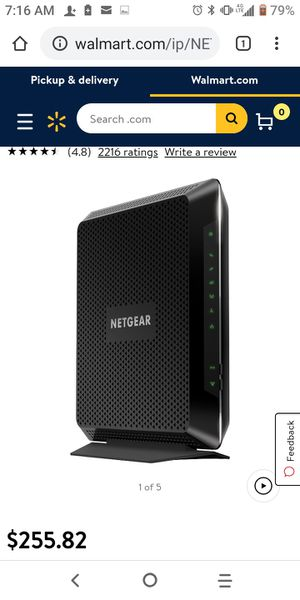 Netgear Cabel Modem Router for Sale in Santa Ana, CA