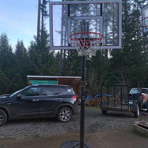 Adjustable Basketball Hoop for Sale in Corbett, OR
