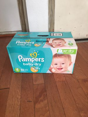 pampers SIZE 4 92 92 pañales for Sale in Compton, CA