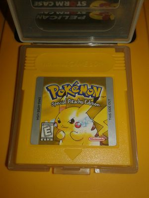 Gameboy Pokemon Yellow Cart Only for Sale in Largo, FL