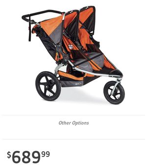 I want to trade my BOB double stroller for a BOB single stroller or comparable jogger for Sale in Dallas, TX