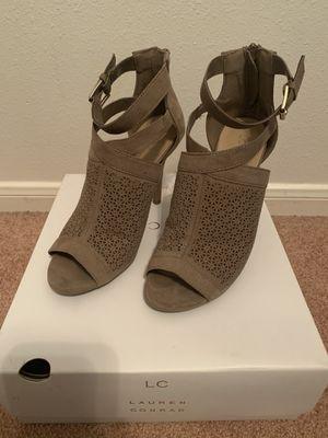 Lauren Conrad heels in taupe for Sale in Houston, TX