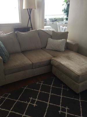 Couch with Ottoman for Sale in Portland, OR