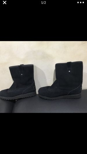 Black suede UGGS Boots sz 5 great condition for Sale in Davie, FL