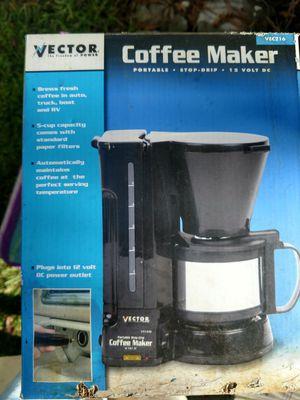 Portable coffee maker 12 volt for Sale in Pooler, GA