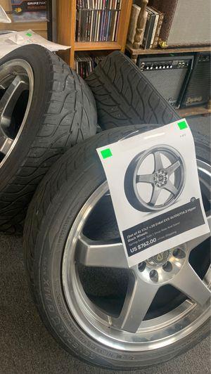 Enkei EV5 set of 4 wheels for Sale in Annville, PA
