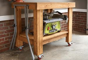 Ryobi 10 inch folding table saw with stand for Sale in Dearborn, MI