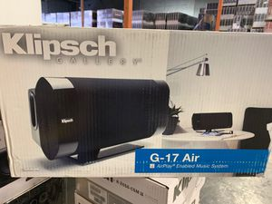 Klipsch AirPlay Music System G-17 Air open box like new for Sale in Miami, FL