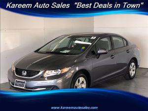 2014 Honda Civic Sedan for Sale in Sacramento, CA