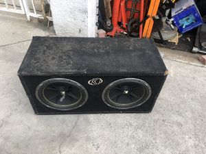 """12"""" kicker comps and amp for Sale in Santa Ana, CA"""