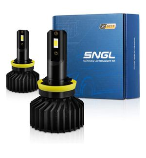 SNGL H9 H11 LED Headlight Bulbs Low Beam/High beam / H8 H16 Fog Lights Adjustable Beam 70W 10000LM 6000K Xenon White for Sale in Las Vegas, NV