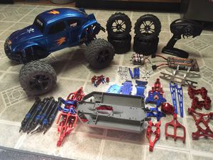 Traxxas Emaxx, with VW big body for Sale in Linden, VA
