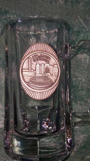 Atlanta NFL beer MUG Cup pewter plaque for Sale in West Covina, CA