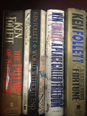 4 hardback Ken Follett books - excellent condition for Sale in Pittsburgh, PA