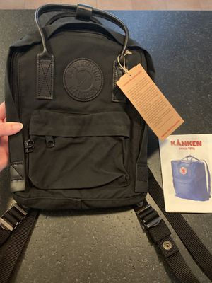 Fjallraven Kanken no.2 black mini backpack for Sale in El Cajon, CA