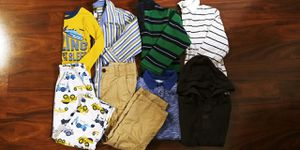 Boys size 5T fall and winter clothes lot -- Baby Gap and Carter's for Sale in Tacoma, WA
