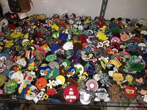 over 600 Disney Pins Just stocked @ The Antique Warehouse 5301 Pirrone rd Salida for Sale in Ceres, CA