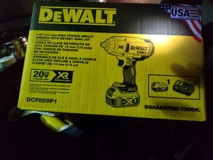 Dewalt 1/2 impact wrench charger and battery for Sale in Eugene, OR