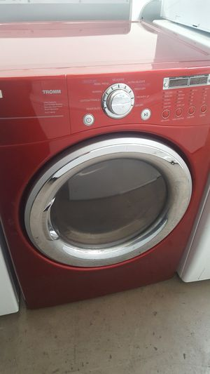 Lg red dryer gas for Sale in Mission Viejo, CA