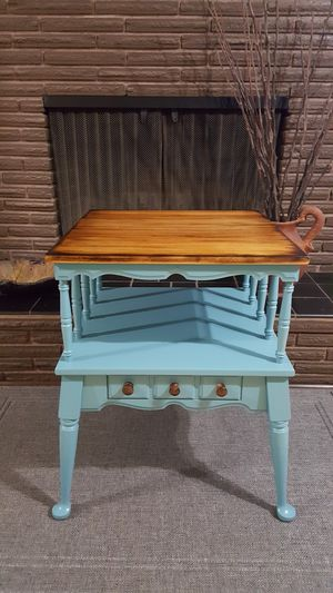 Custom Solid Wood Shou Sugi Ban End Table/Night Stand for Sale in Hillsboro, OR