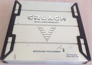 Car amplifier 2-Channels 1,000Watts Old School Crunch $99 for Sale in Chula Vista, CA