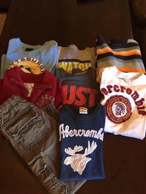 Size 8 boys clothes
