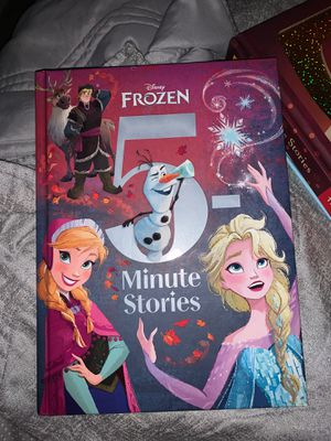 5 minute bed time stories Frozen for Sale in Fort Worth, TX
