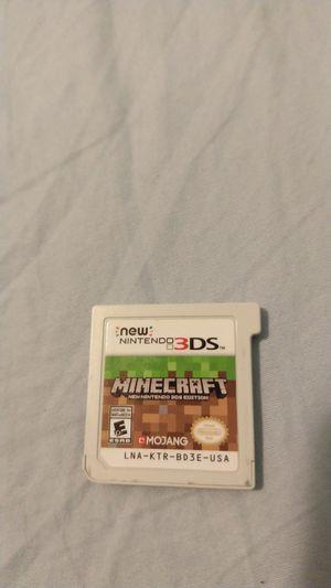 Minecraft New Nintendo 3DS for Sale in Fort Belvoir, VA