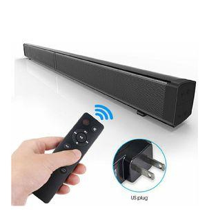Sound Bar LP-09 Bluetooth Speaker Home Furniture TV Echo Wall Soundbar Wall-Mounted Remote Control U-Disk for Sale in Bakersfield, CA