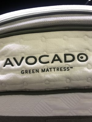 Queen or twin avacado brand All organic pillowtop mattress new for Sale in Portland, OR