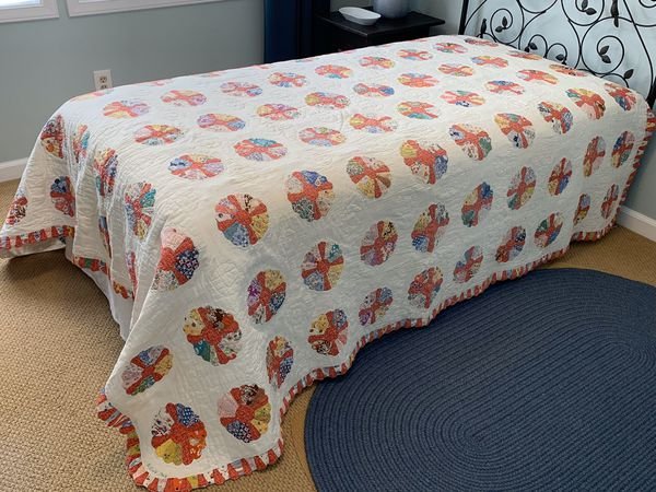 Vintage hand-made Quilt