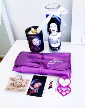 Selena Candle and Brush Set Lot for Sale in Fontana, CA