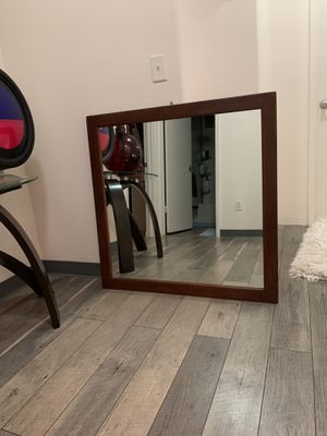 Wall square mirror for Sale in Waipahu, HI