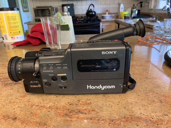 Sony handyman 8mm camcorder