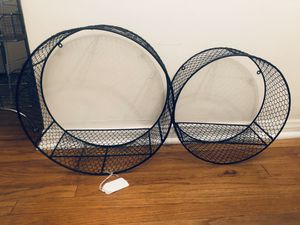 Round metal wall shelves for Sale in Whittier, CA